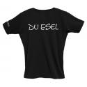 "Honigdieb T-Shirt / Girlie ""Ich Gott ... Du Esel"""